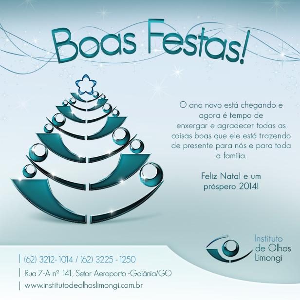 Instituto de Olhos Limongi - Instagram - Cartão de Natal 2013