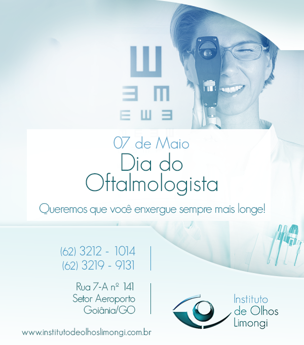 Instituto de Olhos Limongi - Blog - Dia do Oftalmologista